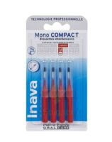 Inava Brossettes Mono-compact Rouge Iso 4 1,5mm à PÉLISSANNE