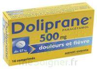 DOLIPRANE 500 mg Comprimés 2plq/8 (16) à PÉLISSANNE