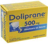 Doliprane 500 Mg Poudre Pour Solution Buvable En Sachet-dose B/12 à PÉLISSANNE
