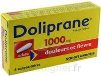 Doliprane 1000 Mg Suppositoires Adulte 2plq/4 (8) à PÉLISSANNE