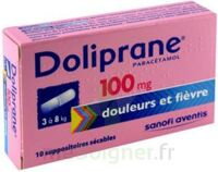 Doliprane 100 Mg Suppositoires Sécables 2plq/5 (10) à PÉLISSANNE
