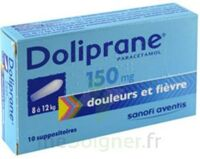 Doliprane 150 Mg Suppositoires 2plq/5 (10) à PÉLISSANNE