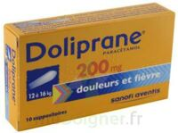 Doliprane 200 Mg Suppositoires 2plq/5 (10) à PÉLISSANNE