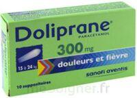 Doliprane 300 Mg Suppositoires 2plq/5 (10) à PÉLISSANNE