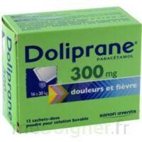 Doliprane 300 Mg Poudre Pour Solution Buvable En Sachet-dose B/12 à PÉLISSANNE