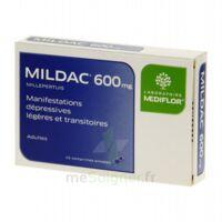 MILDAC 600 mg, comprimé enrobé à PÉLISSANNE