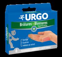 Urgo Brulures-blessures Petit Format X 6 à PÉLISSANNE