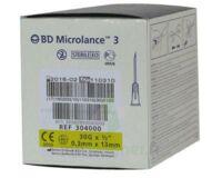 Bd Microlance 3, G30 1/2, 0,30 Mm X 13 Mm, Jaune  à PÉLISSANNE