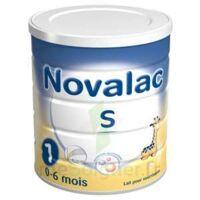 Novalac S 1 Lait En Poudre Satiétant 1er âge B/800g à PÉLISSANNE