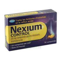 Nexium Control 20 Mg Comprimés Gastro-résistants Plq/14 à PÉLISSANNE