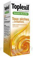 Toplexil 0,33 Mg/ml Sans Sucre Solution Buvable 150ml à PÉLISSANNE