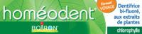 Boiron Homéodent Soin Complet Dents Et Gencives Pâte Dentifrice Chlorophylle Format Voyage T/25ml à PÉLISSANNE