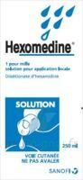 Hexomedine 1 Pour Mille S Appl Loc Fl/250ml à PÉLISSANNE