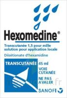 HEXOMEDINE TRANSCUTANEE 1,5 POUR MILLE, solution pour application locale à PÉLISSANNE