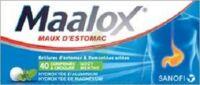 Maalox Hydroxyde D'aluminium/hydroxyde De Magnesium 400 Mg/400 Mg Cpr à Croquer Maux D'estomac Plq/40 à PÉLISSANNE