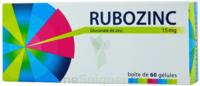 Rubozinc 15 Mg Gél 1plq/60 à PÉLISSANNE