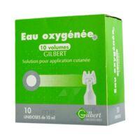Eau Oxygenee 10 Volumes Gilbert, Solution Pour Application Cutanée En Récipient Unidose à PÉLISSANNE