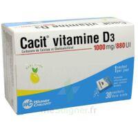 Cacit Vitamine D3 1000 Mg/880 Ui, Granulés Effervescents 90sach/8g à PÉLISSANNE
