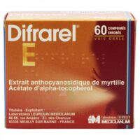 Difrarel E, Comprimé Enrobé Plq/60