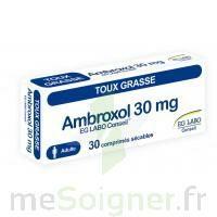 AMBROXOL EG LABO CONSEIL 30 mg, comprimé sécable à PÉLISSANNE