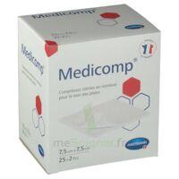 Medicomp® Compresses En Nontissé 7,5 X 7,5 Cm - Pochette De 2 - Boîte De 25 à PÉLISSANNE