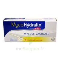 MYCOHYDRALIN 500 mg, comprimé vaginal à PÉLISSANNE
