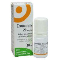 CROMABAK 20 mg/ml, collyre en solution à PÉLISSANNE