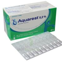 Aquarest 0,2 %, Gel Opthalmique En Récipient Unidose à PÉLISSANNE