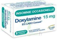 DOXYLAMINE EG LABO CONSEIL 15 mg, comprimé pelliculé sécable à PÉLISSANNE