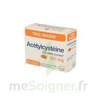 ACETYLCYSTEINE EG 200 mg, poudre pour solution buvable en sachet-dose à PÉLISSANNE