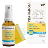 Pranarôm Aromapoux Bio Spray anti-poux 30ml+peigne à PÉLISSANNE