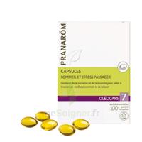 Pranarom Oleocaps 7 Caps Sommeil & Stress Passager à PÉLISSANNE
