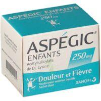 ASPEGIC ENFANTS 250, poudre pour solution buvable en sachet-dose à PÉLISSANNE