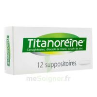 TITANOREINE Suppositoires B/12 à PÉLISSANNE
