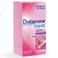 Dolipraneliquiz 300 mg Suspension buvable en sachet sans sucre édulcorée au maltitol liquide et au sorbitol B/12 à PÉLISSANNE