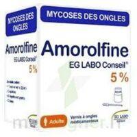 Amorolfine Eg 5 % V Ongles Médicamenteux 1fl/2,5ml+10 Spat à PÉLISSANNE