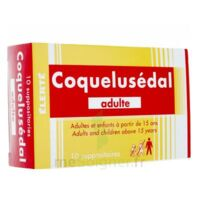 Coquelusedal Adultes, Suppositoire à PÉLISSANNE