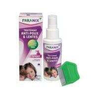 Paranix Solution antipoux Huiles essentielles 100ml+peigne à PÉLISSANNE