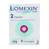 Lomexin 600 Mg Caps Molle Vaginale Plq/2 à PÉLISSANNE