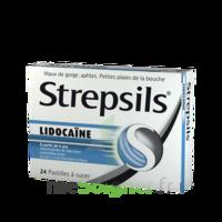 Strepsils Lidocaïne Pastilles Plq/24 à PÉLISSANNE