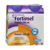 Fortimel Protein Nutriment caramel 4 Bouteilles/200ml à PÉLISSANNE