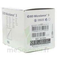 Bd Microlance 3, G22 1 1/2, 0,7 M X 40 Mm, Noir  à PÉLISSANNE