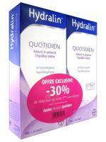 Hydralin Quotidien Gel lavant usage intime 2*200ml à PÉLISSANNE