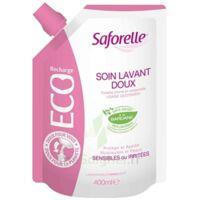 Saforelle Solution Soin Lavant Doux Eco-recharge/400ml à PÉLISSANNE