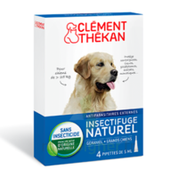 Clément Thékan Spot-on Solution externe grand chien 4 Pipettes/5ml à PÉLISSANNE