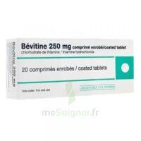 Bevitine 250 Mg Cpr Enr Plq/20 à PÉLISSANNE