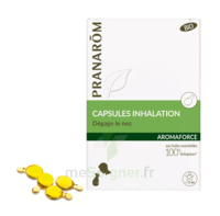 Aromaforce Caps inhalation bio B/15 + Inhalateur à PÉLISSANNE