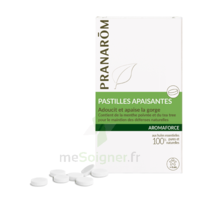 Aromaforce Pastille apaisante gorge bio B/21 à PÉLISSANNE