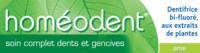 Boiron Homéodent Soin Complet Dents Et Gencives Pâte Dentifrice Anis 2t/75ml à PÉLISSANNE
