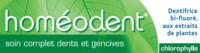 Boiron Homéodent Soin Complet Dents Et Gencives Pâte Dentifrice Chlorophylle 2t/75ml à PÉLISSANNE
